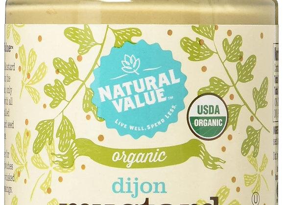 Natural Value Organic Dijon Mustard