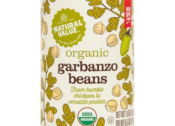 Garbanzo Beans, Full Salt