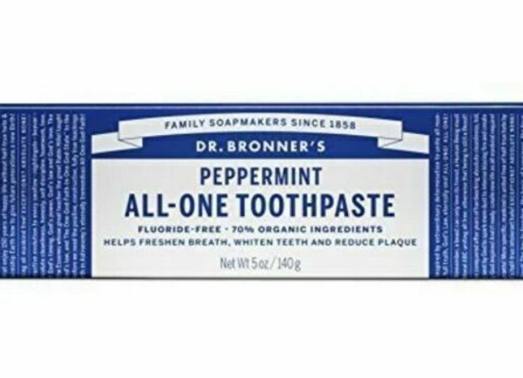 Dr. Bronner's All One Toothpaste, Peppermint