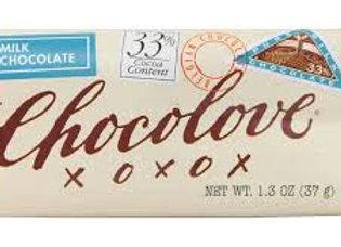 Chocolove Mini Milk Chocolate Bar