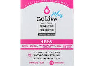 GoLive Pro/ Prebiotic for Women