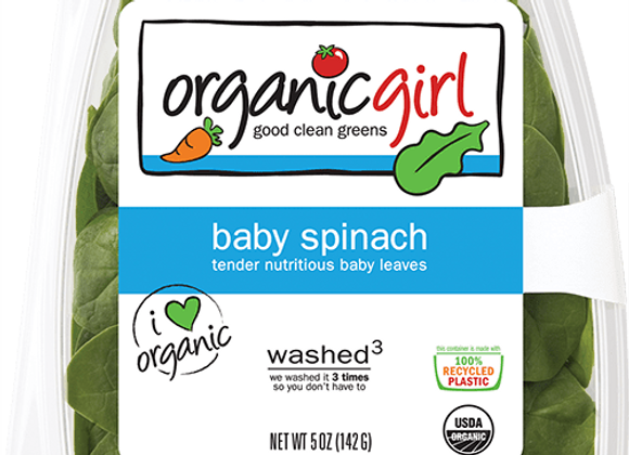 Spinach Clamshell 5oz