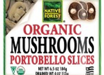 Native Forest Sliced Portabello Mushrooms