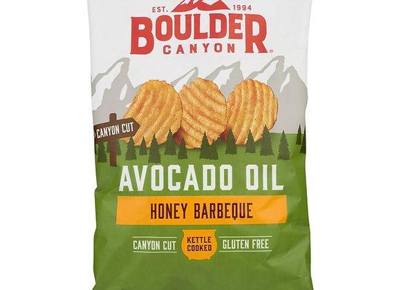 Boulder Canyon Avocado Oil Chips, Honey BBQ