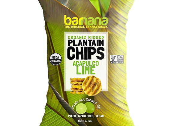 Banana Plantain Acapulco Lime Chips