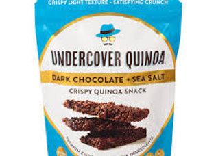 Undercover Quinoa Dark Chocolate and Sea Salt Bites