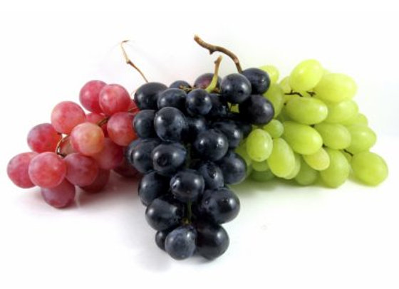 Tri Color Grapes