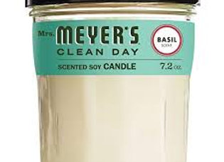 Mrs. Meyer's Basil Soy Candle
