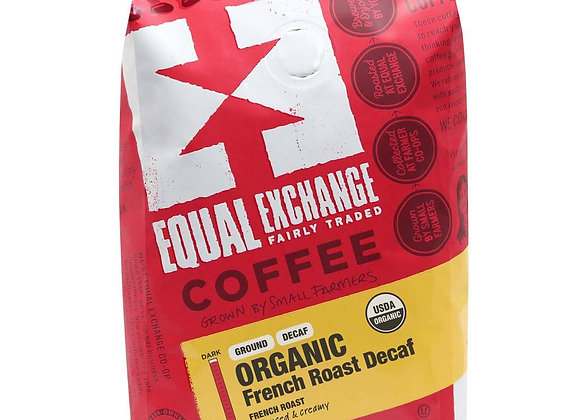 Equal Exchange Decaf French Roast Coffee