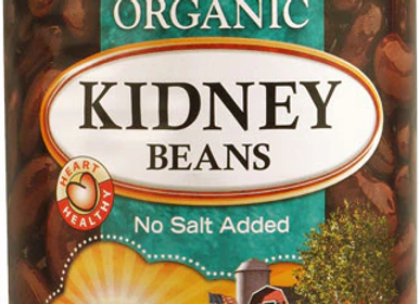 Kidney Beans No Salt