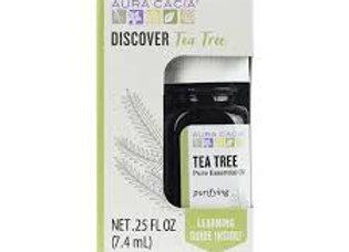 Aura Cacia Essential Oils, Discovery, Tea Tree