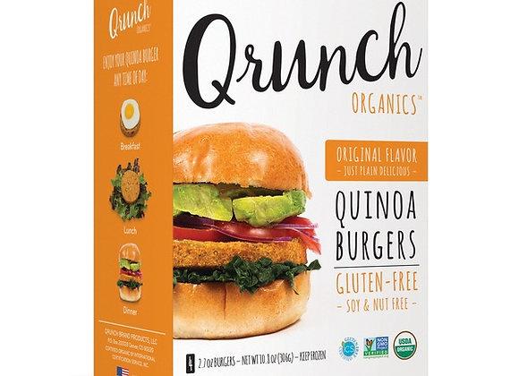 Qrunch Quinoa Burgers, Gluten-Free