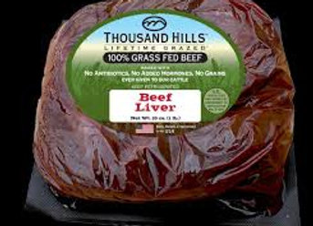 Grass Fed Beef Liver
