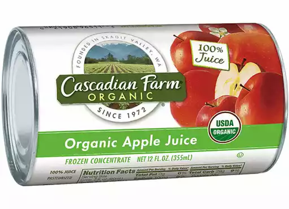 Cascadian Farms Apple Juice Concentrate