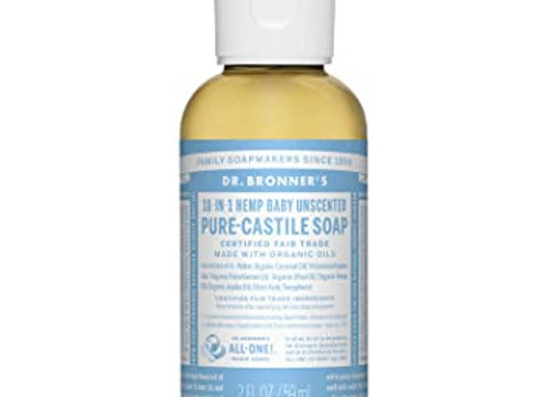Dr. Bronners Unscented Travel