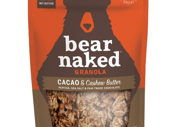 Bear Naked Granola, Cacao and Cashew Butter