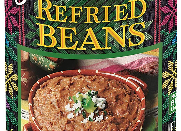 Refried Beans, Traditional