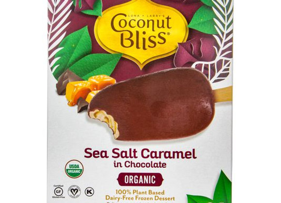 Coconut Bliss Sea Salt Caramel Bars