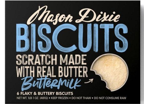 Mason Dixie Buttermilk Biscuits