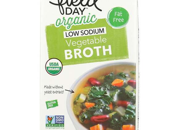 Field Day Low Sodium Vegetable Broth