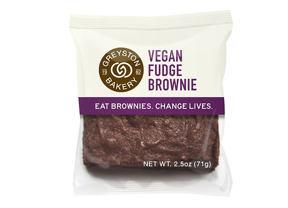 Greyston Bakery Vegan Fudge Brownie