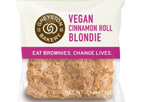 Greyston Bakery Vegan Cinnamon Roll Blondie