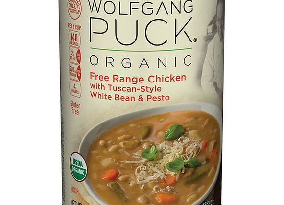 Wolfgang Puck Chicken, White Bean and Pesto Soup