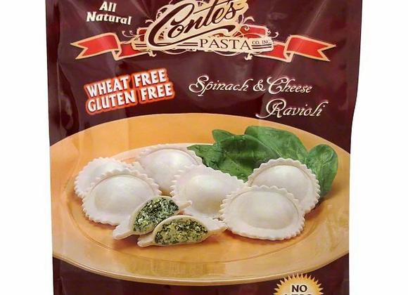 Conte's GF Spinach and Cheese Ravioli