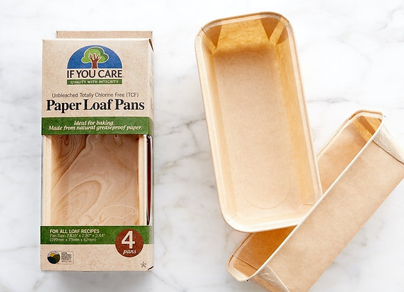 If you Care Paper Loaf Pans