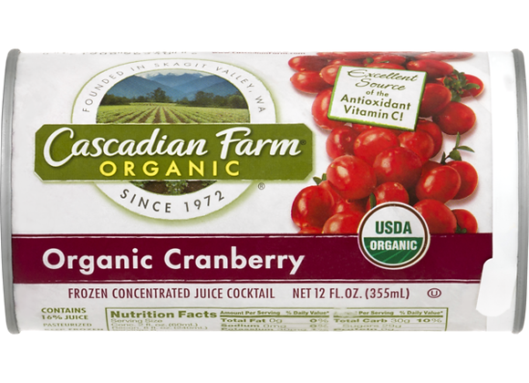 Cascadian Farms Organic Cranberry Juice Concentrate