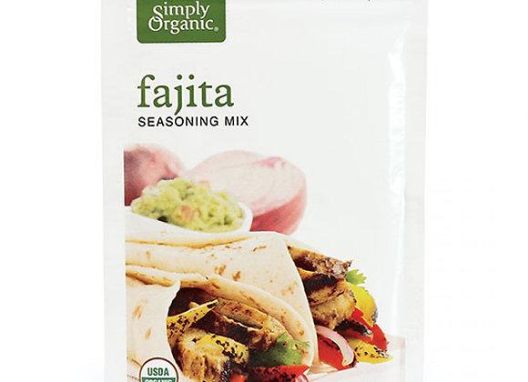 Simply Organics Fajitas