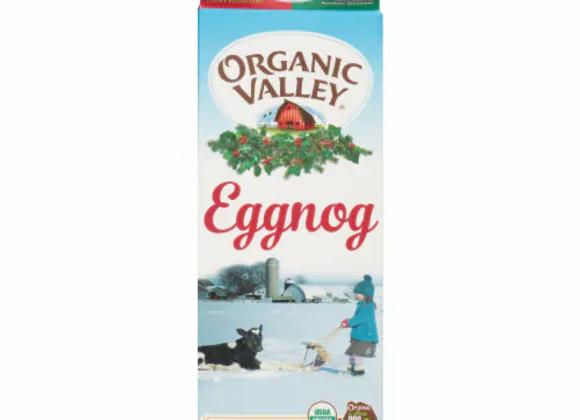 Organic Valley Eggnog
