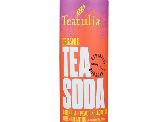 Teatulia Green Tea Soda
