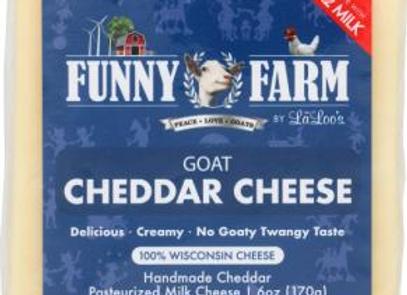Goat Cheddar