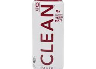 Clean Cause Sparkling Yerba Mate, Berry Mint