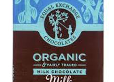 Equal Exchange Chocolates Milk Chocolate