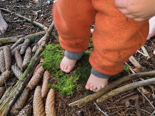 Naturschätze - Die alte Mühle liebt Kinder und Naturschätze...