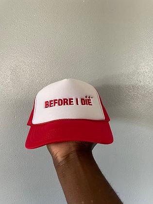 RED LOGO HAT