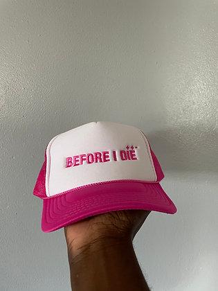 PINK LOGO HAT