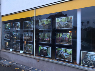 Ausstellung im Schaufenster
