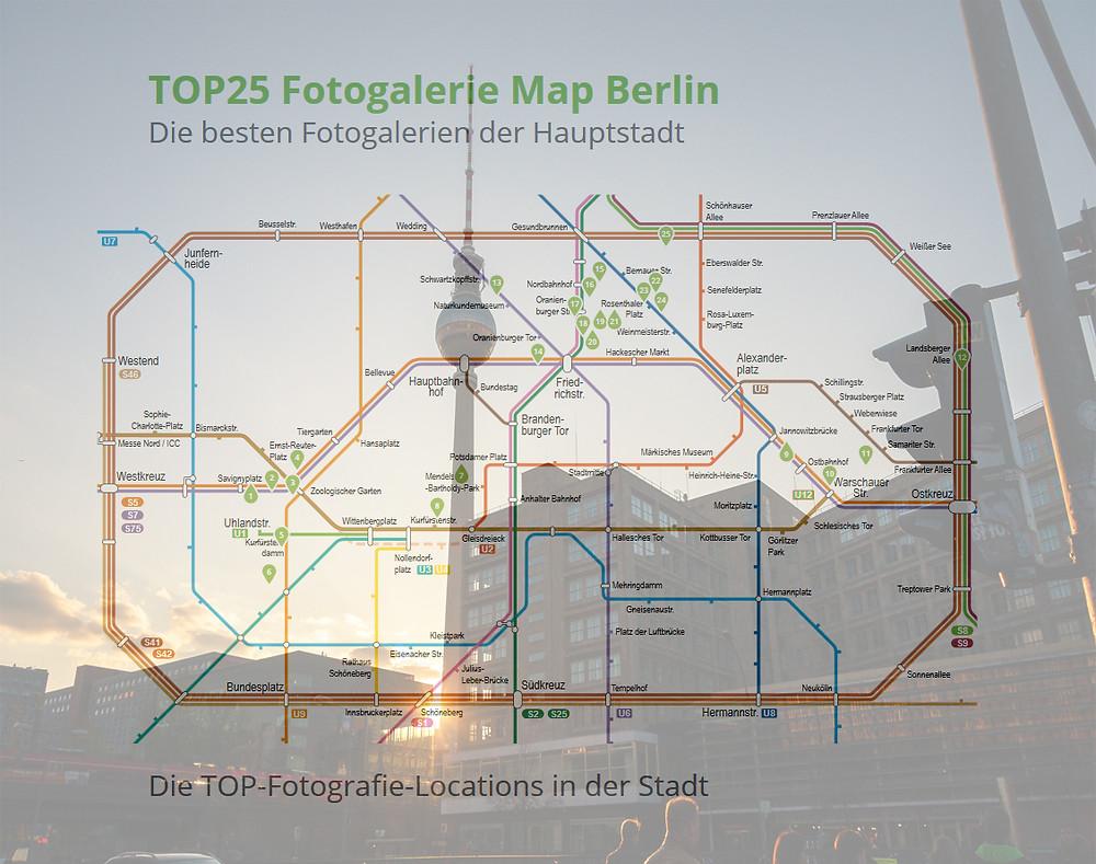 Eine lohnende Karte für den nächsten Berlin-Besuch
