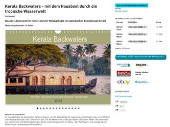 Kerala - Kalender für 2022 ab sofort erhältlich