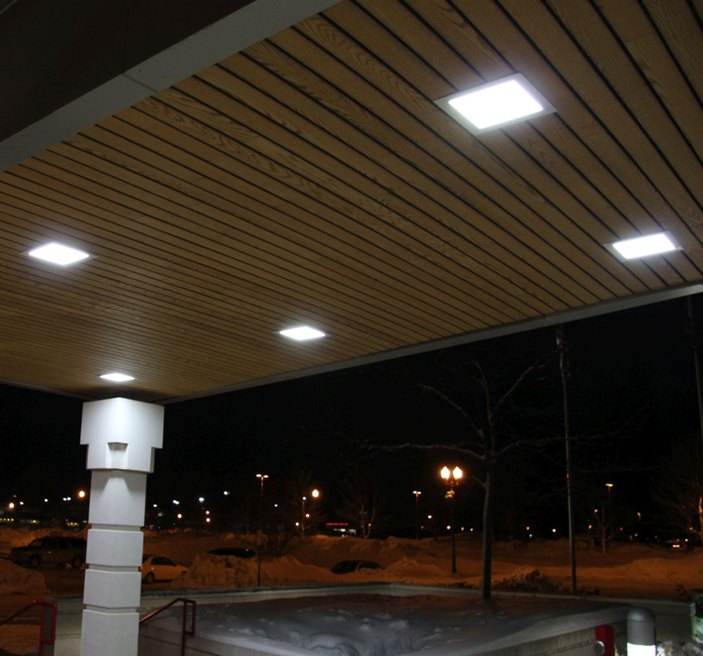 L-Grid®2 EH 1x1 Outdoor LED Soffit Canopy 03