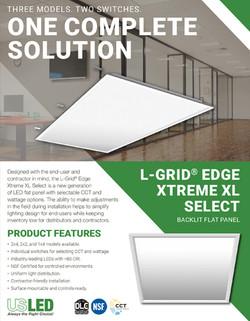 L-Grid® Edge Xtreme XL Select