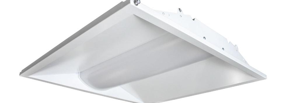 US LED TEG LED Troffer 2x2 Angle