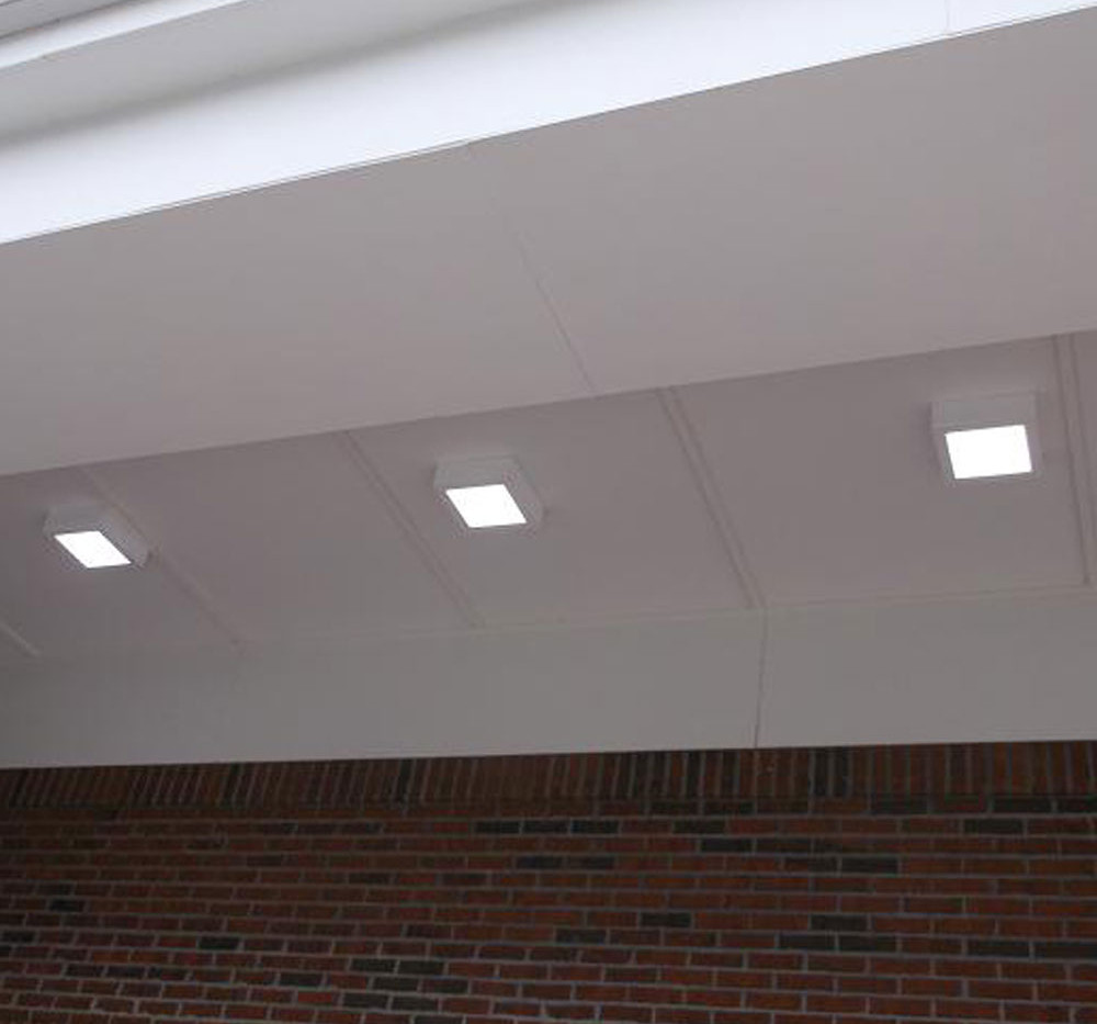 L-Grid®2 EH 1x1 Outdoor LED Soffit Canopy 04
