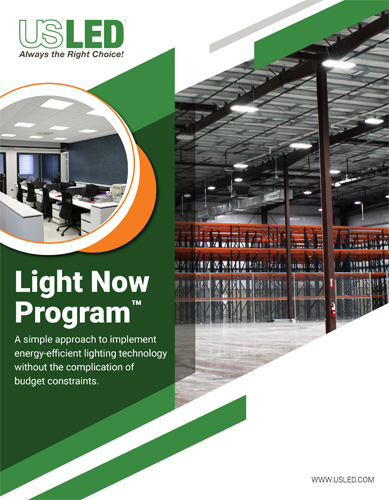 Lighting As A Service Flyer