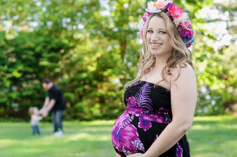 Maternity Photographer Hair Salon MA