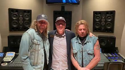 Jeffrey Steels, Anthony Smith and Garry Lubi