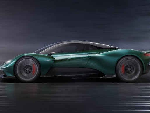 VANQUISH VISION CONCEPT: ICONIC NAME REVIVED FOR ASTON MARTIN'S FIRST MID-ENGINED SERIES PRODUCTION